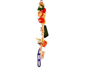Avian Specialties: Birdie's Braided Fantasy bird toy